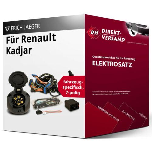 Für Renault Kadjar Typ HA//HL Elektrosatz 7polig spezifisch neu