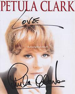 Petula-Clark-HAND-SIGNED-8x10-Photo-Autograph-Downtown-Don-039-t-Sleep-The-Subway-B