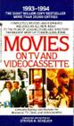 Movies on TV and Videocassette, 1993-1994 by Steven H. Scheuer (1992, Paperback)
