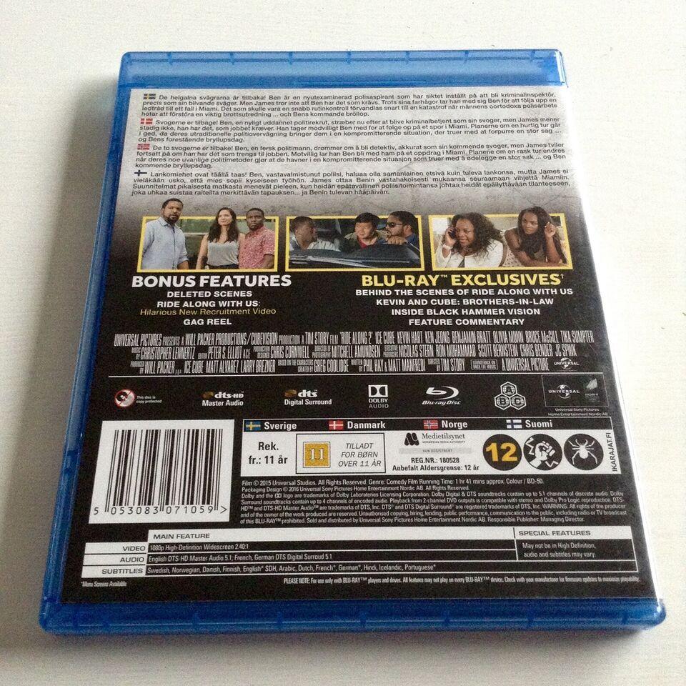 Ride Along 2, Blu-ray, komedie