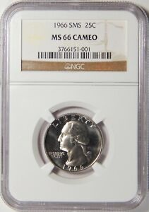 1966 SMS Washington Quarter certified MS 67 by NGC!