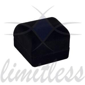 Black Velvet Heart Ring Box Fancy Ring Box Elegant Ring Box Simple Ring Box