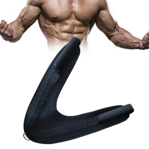 Shoulder Belt Home Abdominal Crunch Strap Exercise Gym Equipment Nylon Fitness
