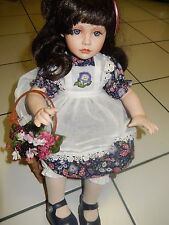 """""""Blackberry Blossom"""" by Ann Timmerman Porcelain Doll from Georgetown Collection"""