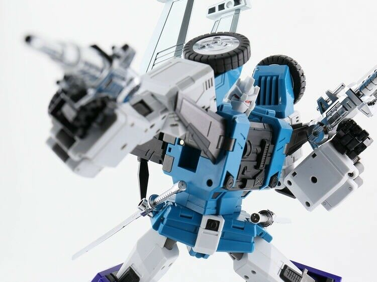 Transformers 6 juguetes DX 9 D10 Hang G1 azul Director