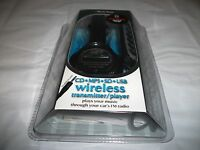 Music Gear Cd Mp3 Sd Usb Wireless Transmitter /player With Remote Free Shipping