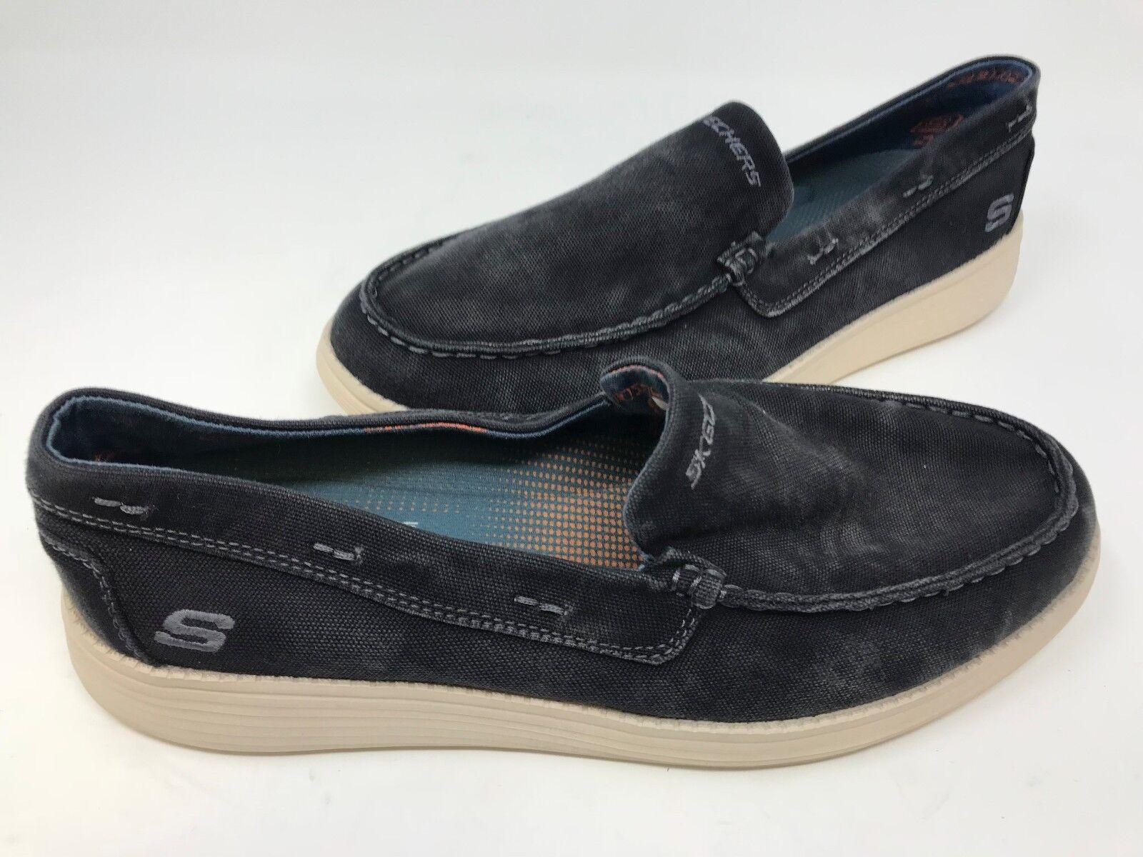 online store df473 9b72d nouveau!le statut de chaussures de de de ramino sketchers hommes noirs t3  az 8b2914