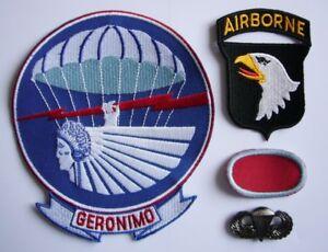 WWII-501st-P-I-R-034-101st-AIRBORNE-034-Set-de-4-Reproductions