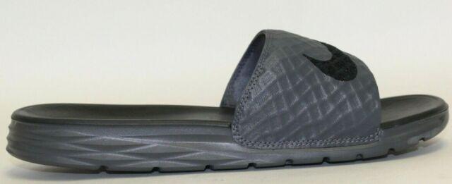 103dc1f6e Nike Mens Benassi Solarsoft Slide 2 Dark Grey black 10 M US for sale ...