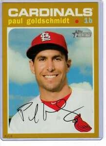 Paul-Goldschmidt-2020-Topps-Heritage-5x7-Gold-467-10-Cardinals