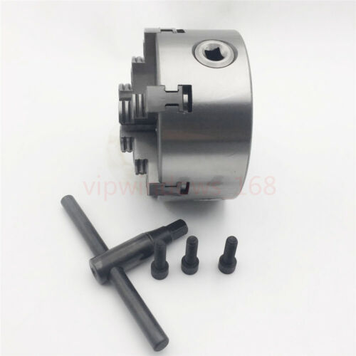 """6Jaw 125mm Lathe Chuck 5/"""" Self-Centering Step Jaws Metal Lathe Tool Accessory"""