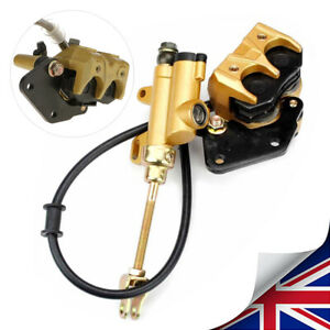 Hydraulic-Rear-Disc-Brake-Caliper-System-for-Dirt-Pit-Bike-ATV-Gokart-110cc-New