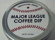 Baseball Major League Coffee Dip Chewing Tobacco Alternative Caffeine Energy