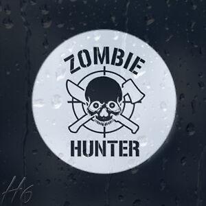 Zombie-Skull-Hunter-Target-Car-Decal-Vinyl-Sticker