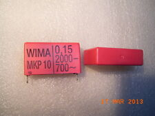 MKP10 WIMA Film Capacitors Polypropylen (PP) 0.15uF 2000VDC 700VAC 2pcs