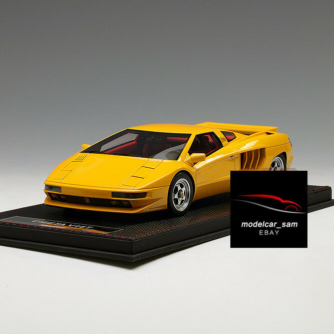 Frontiart 1 18 Cizeta V16T Yellow