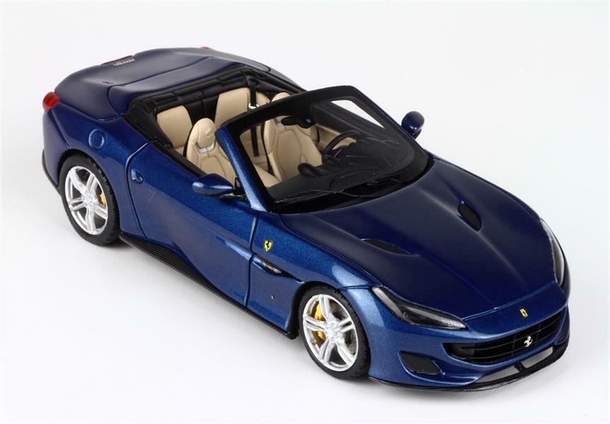 Ferrari Portofino bleu Abu Dhabi 1 43 - BBRC 207d BBR