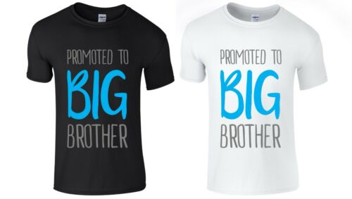 PROMOTED TO BIG BROTHER Boys T-Shirt 1-14 yrs Printed Funny New Gift Present Top