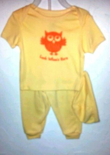 Toddler Girls Size 0//3 3//6 SWIGGIES 6//9 Yellow 3 Pc Outfit W//Hat Special
