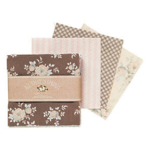 Tilda-Charmpack-42-Precuts-12-5x12-5cm-Patchwork-Stoffpaket-ALL-THAT-IS-SPRING
