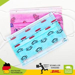 Schutzmaske OP Maske für Kinder Mundschutz 3 lagig Einwegmasken Kindermasken