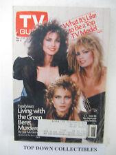 TV Guide    Nov. 17-23  1984    Frank Gifford, Monday Night Football