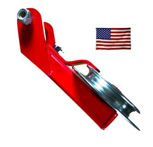 with 8/' Polyester Sling red Made In USA Self-Releasing Snatch Block