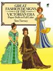 Dover Victorian Paper Dolls: Great Fashion Designs of the Victorian Era Paper Dolls in Full Color by Tom Tierney (1987, Paperback)