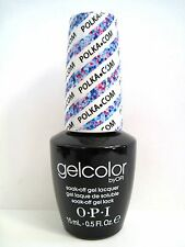 OPI GELCOLOR GC E71 POLKA.COM Fashionistas Euro Glitter Color 0.5 oz/15 mL *NEW