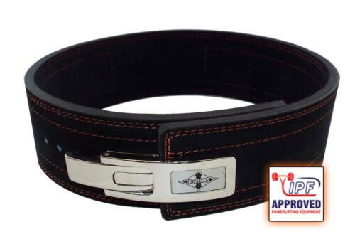 13mm Powerlifting Weightlifting Lever Belt Fully IPF Approved, like Inzer