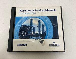 ROSEMOUNT PRODUCT MANUAL DISK 00822-0100-0010 REV. BK