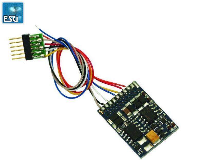 Esu 54612 Lokpilot Décodeur V4.0 Multipredokolldecoder mm   DCC   SX 6-pôles