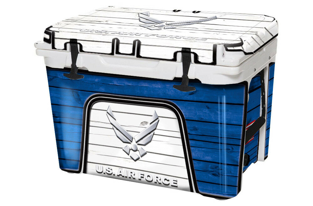 USATuff Custom Cooler Decal Wrap fits YETI Tundra 45qt FULL FULL 45qt US Air Force 666b91