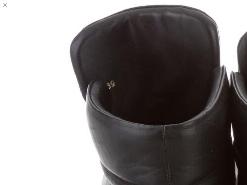 Versace con Zapatillas medusa cuero negro de de unisex Palazzo 39 dorada deporte 1xAB810