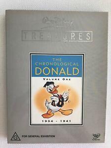 Walt-Disney-Treasures-The-Chronological-Donald-Duck-Volume-One-1934-1941-No-Tin