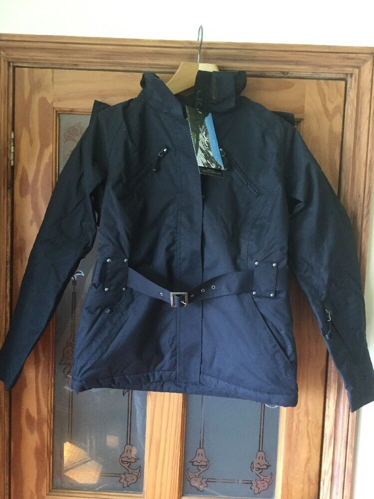JG Jeff verde Donna Recco Giacca Invernale/Cappotto Con Etichette Nuovo di Zecca