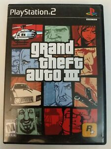 Grand Theft Auto III GTA 3 PS2 Game Sony PlayStation 2 Complete W/ Manual 2001