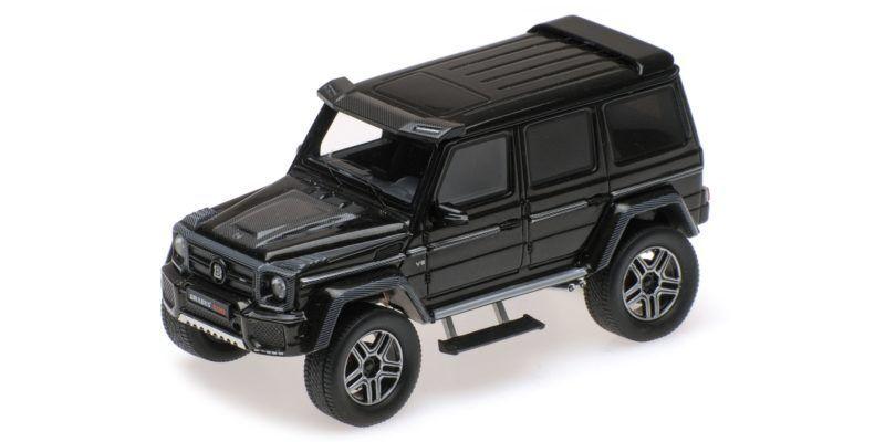 Brabus 4x4 en base mercedes benz g500 nero 2016 1 43 Model Minichamps