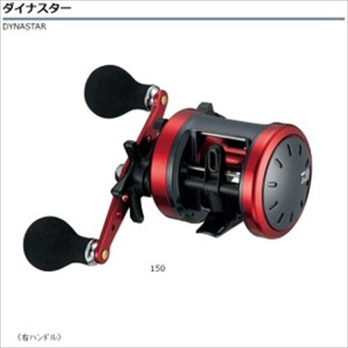 Daiwa Dynastar 150 Right handle Baitcasting Reel From Japan