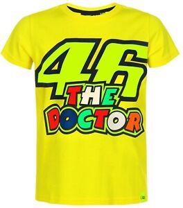 DéVoué Vr46 Enfants T-shirt 46 The Doctor Valentino Rossi Merchandise Vr | 46 Docteur-afficher Le Titre D'origine