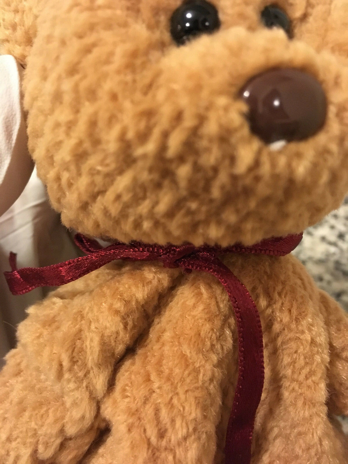 Rare Curly Curly Curly Beanie Baby Multiple Errors f10462