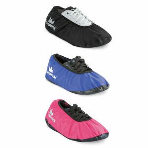 Brunswick-Shoe-Shield-schwarz-blau-oder-pink-Cover-Uberzieher-f-Bowlingschuhe