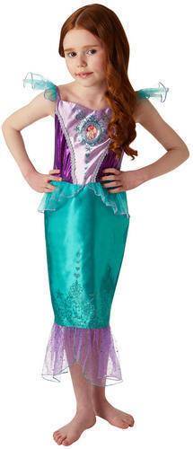 Ariel Gem Princess Girls Fancy Dress Disney Petite Sirène Livre Jour Kids Costume