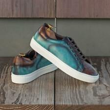 The Hand Patina Cupsole Trainer Model 3834 from Robert August w/ Free...