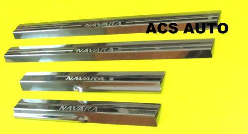 NISSAN NAVARA SCUFF PLATE D40 STX 4doors 2005-2012