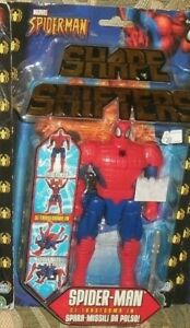 FIGURE-MARVEL-SHAPE-SHIFTERS-SPIDERMAN-SPIDER-MAN-TRANSFORMERS-MISSILES-LAUNCHER