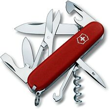 Victorinox Swiss Army 53381 Red Climber Pocket Knife Made in Switzerland
