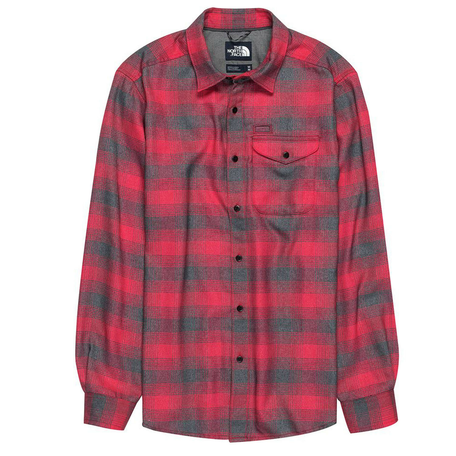 THE NORTH FACE Mens 2019 THERMOCORE LONG-SLEEVED SHIRT TNF Red Prospect Plaid