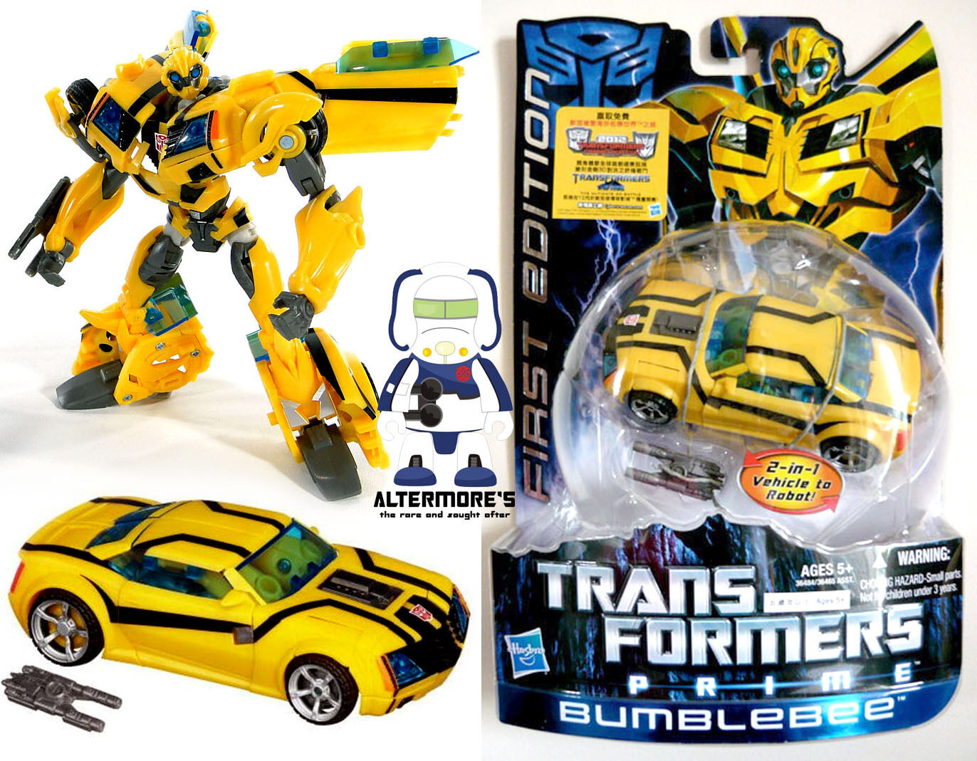 Transformers Takara Hasbro First edition Bumble Bee MOSC (RID)