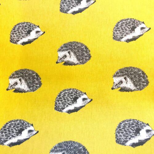 Prestigious Textiles Hérisson Jonquille Jaune Matt PVC Toile Cirée Par Mètre